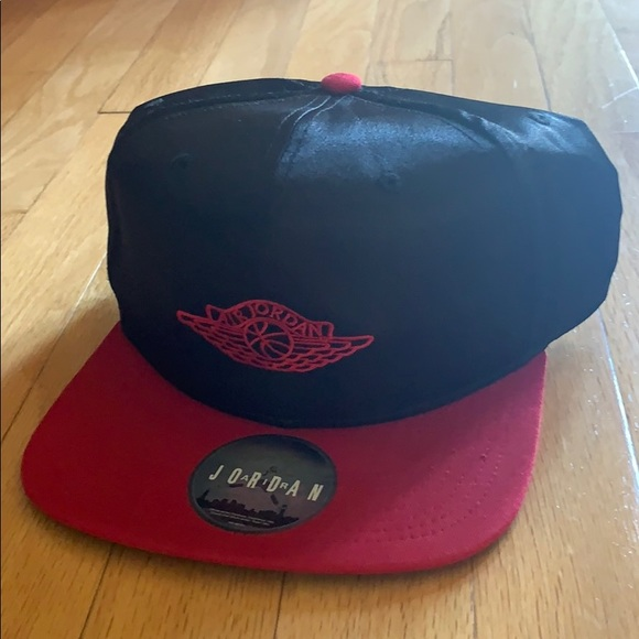 4e8e34731cf Jordan Accessories | Air 1 Banned 2016 Og Satin Snapback Hat | Poshmark